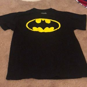 Boys black yellow Batman t shirt